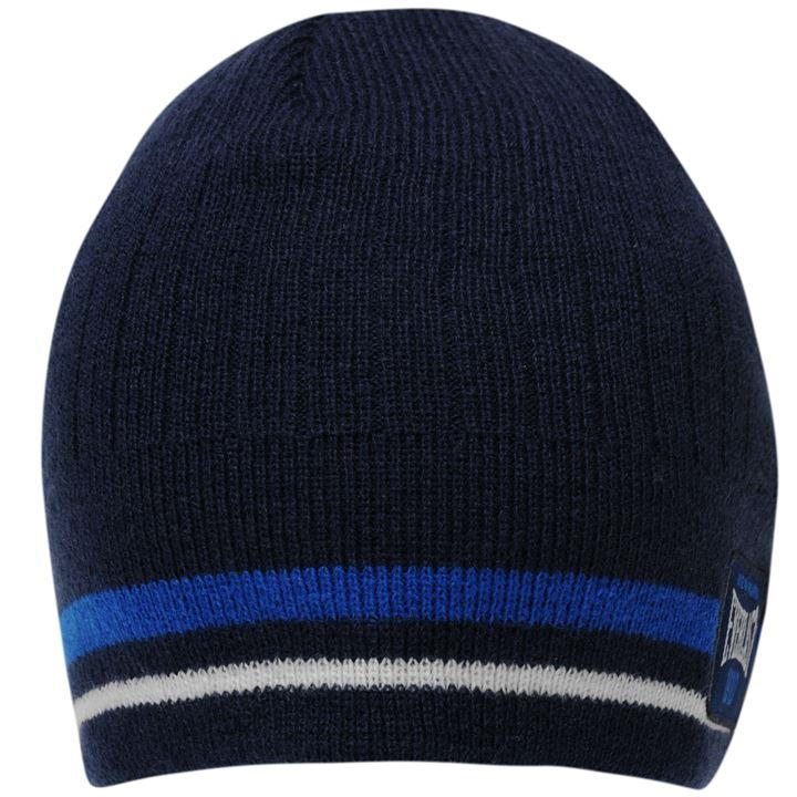 Шапка Everlast Pull Down Beanie Hat Mens синяя