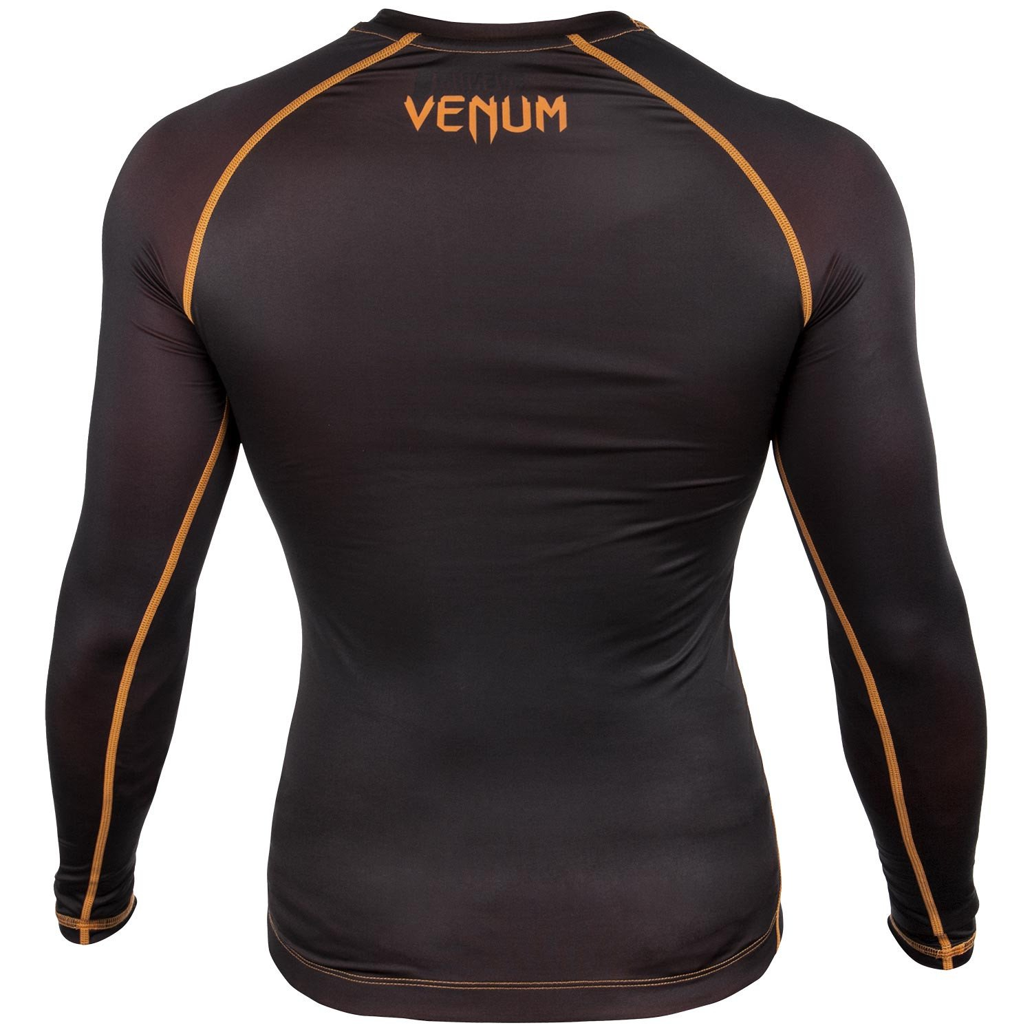 Рашгард Venum Contender 3.0 Compression Long оранжевый