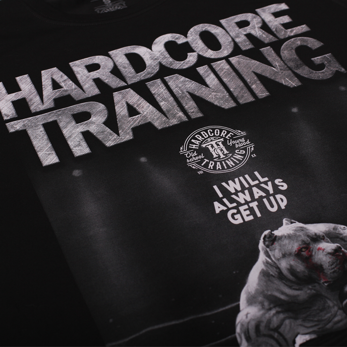 Футболка Hardcore Training Die Hard черная