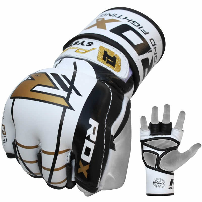 Шингарды RDX F3 Gel Leather MMA Gloves