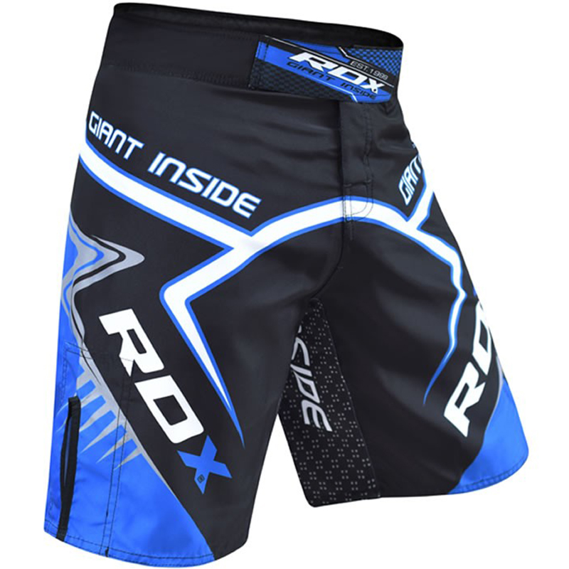 Шорты RDX R7 GIANT INSIDE MMA SHORTS синие