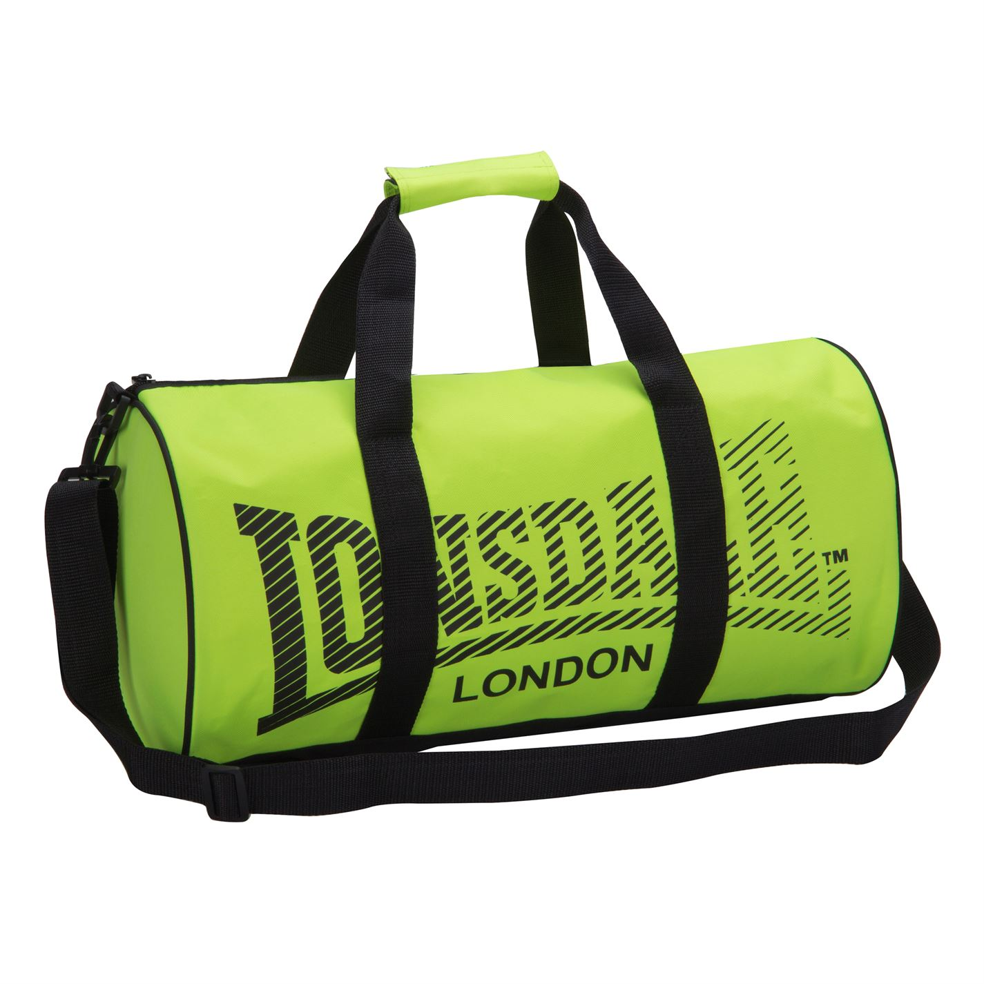 Сумка Lonsdale Barrel Bag зеленая