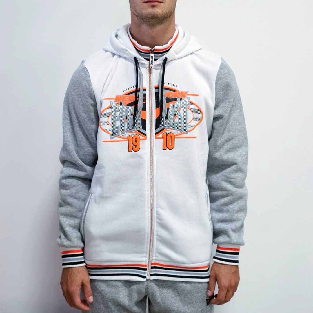 Толстовка Everlast Zip Hoody Mens белая