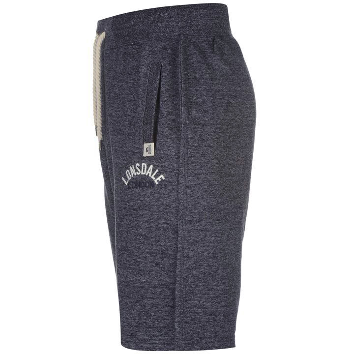 Шорты Lonsdale Marl Fleece Shorts Mens синие