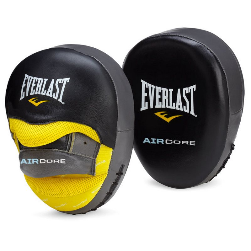 Лапы Everlast Sefemax Air черные