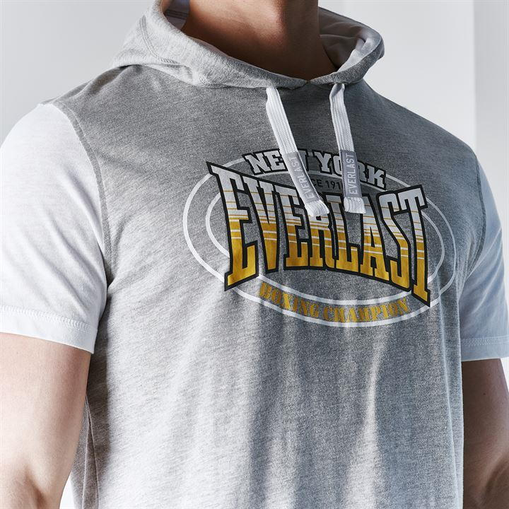 Футболка Everlast Mock Layer TShirt Mens серая